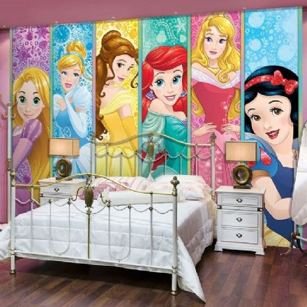 Disney Princesses wallpaper mural